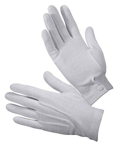 Rothco Gripper Dot White Parade Gloves, Large