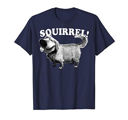 Disney Pixar Up Dug Squirrel Graphic T-Shirt T-Shirt
