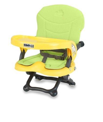 CAM S333 P11 Seggiolone rialza sedia Smarty, Giallo