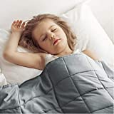 Highly recommended EXQ Home flagship product! 7-layer premium cotton fabric! Our weighted blanket is made of 300tc 100% organic cotton, no chemical stimulation, better care for your kids.EXQ Home tranquility weighted blanket give your baby a healthy ...