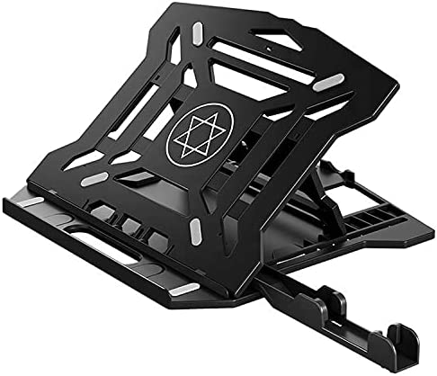 360 Rotating Notebook Stand Table Desk ABS Ajustable Suporte para Laptop Holder Accessories Monitor Computer Soporte Cooling Pad