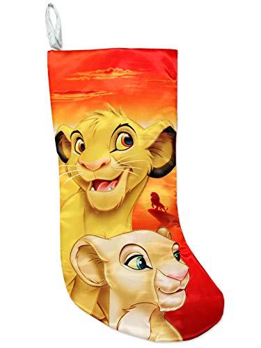 Kurt Adler The Lion King Simba & Nala Stocking