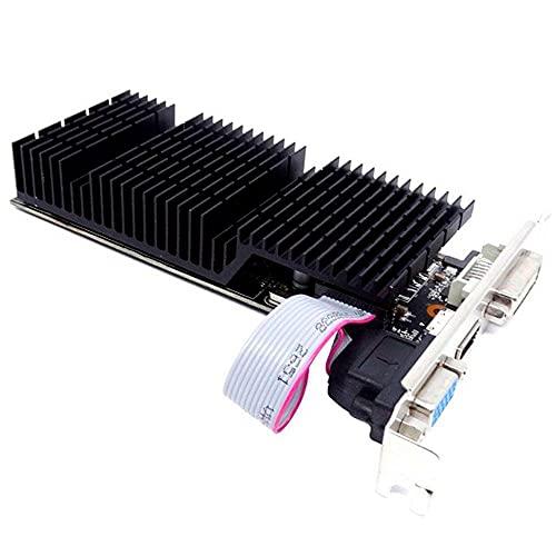 Placa de Vídeo AFOX GeForce GT710 2GB DDR3 64 Bits, HDMI/DVI/VGA, AF710-2048D3L7