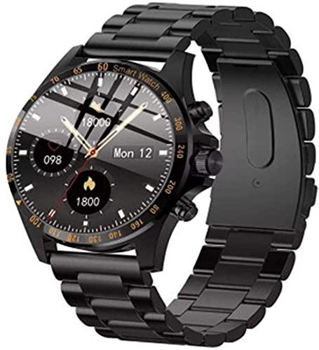 Pulsera inteligente del tacto de la pantalla completa del estilo de la moda del negocio del reloj de los hombres, IP68 impermeable actividad tracker-C