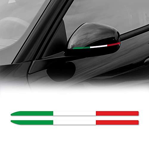 Stripes Strisce Adesive Tricolore Italia per Specchietti Alfa Giulietta