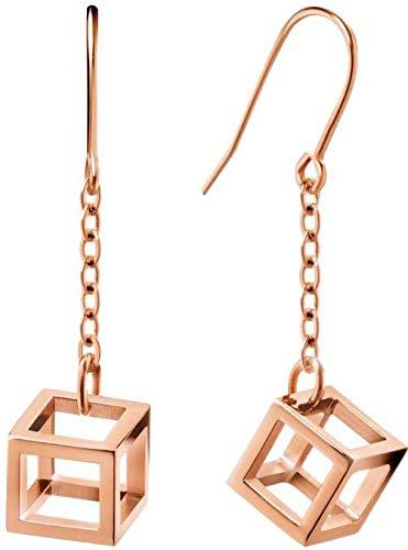 Calvin Klein dames hangende oorbellen roestvrij staal - 7612635094304