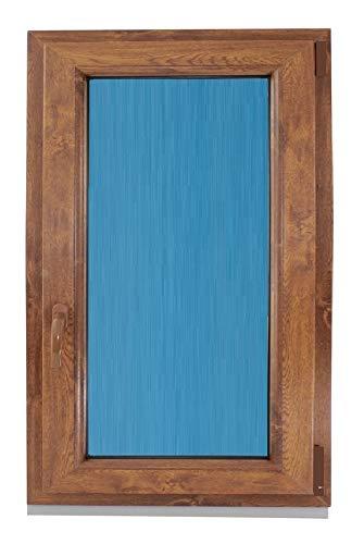 ECO-BLU (V19T) Ventana Pvc color Madera 800x1000 Oscilobatie