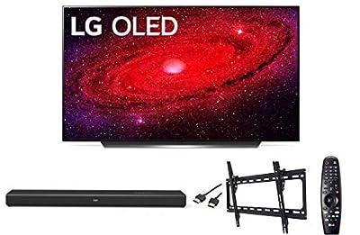 LG OLED65CXPUA 65 inch 4K OLED TV Bundle w/Soundbar and TV Mount - LG Authorized Dealer by LG