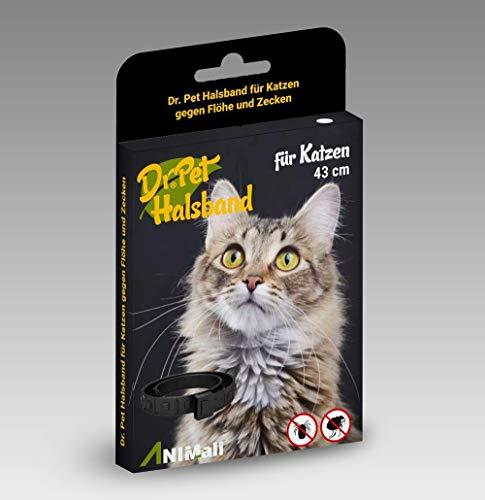 Dr Pet Zeckenhalsband Katzen Flohhalsband Ungezieferhalsband Zeckenschutz