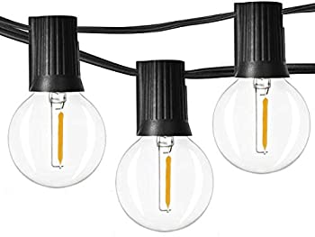 Newpow 48ft LED Outdoor String Lights