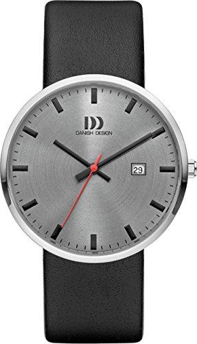 Danish Design Herren Analog Quarz Uhr mit Leder Armband DZ120614