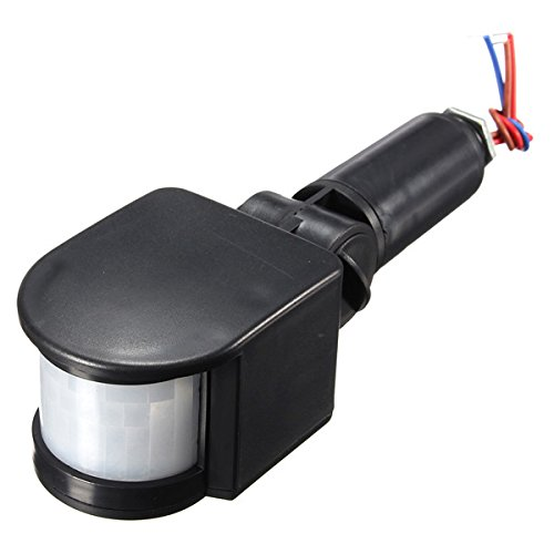Masunn buiten 12V automatische infrarood pir-bewegingsmelder