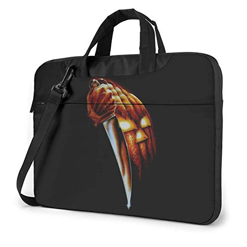 shenguang Michael-Myers-Halloween Laptop Shoulder Messenger Bag Case Sleeve for (13 Inch 14 Inch 15.6 Inch) Durable and Lightweight Portable Laptop or Ipad Tablet Case Laptop Briefcase 15.6 inch