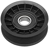 ACDelco Professional 38009 Flanged Idler Pulley , Black