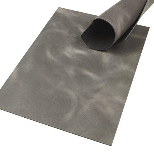 Klassen Leder AIX Rindsleder 2,5 mm Dick Grau Pull-Up Design 135 (297 x 420 mm, 1 x A3)