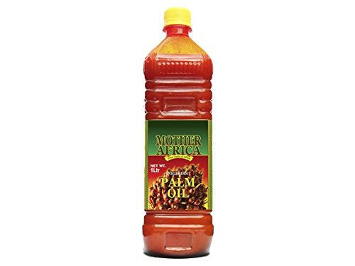 MOTHER AFRICA Rotes Palmöl 1000ml Palm Öl / Pure Red Palm Oil