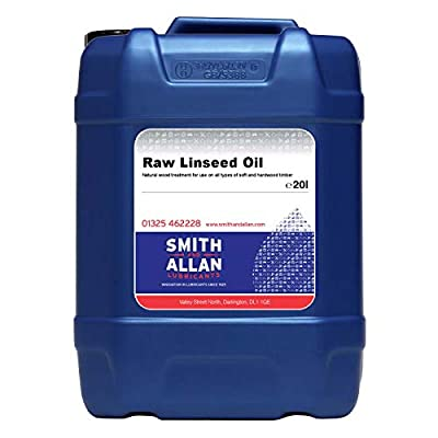 Smith & Allan Raw Linseed Oil : Size - 20lt