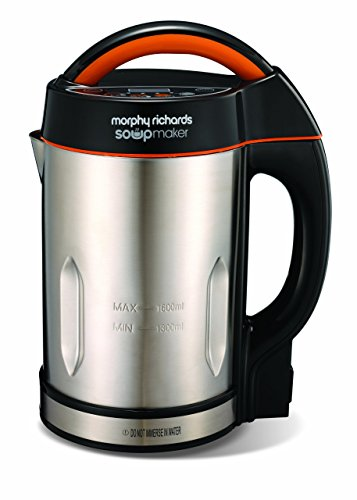 Picture of Morphy Richards 48822 Soup maker, Stainless Steel, 1000 W, 1.6 liters