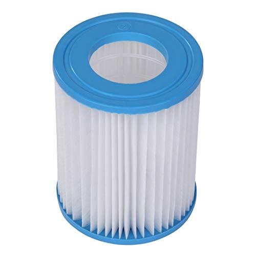 Blueborn Filterkartuschen C106136 Poolpumpen Filter Kartuschenfilter Filterpatrone Ø 10,6 x 13,6 cm