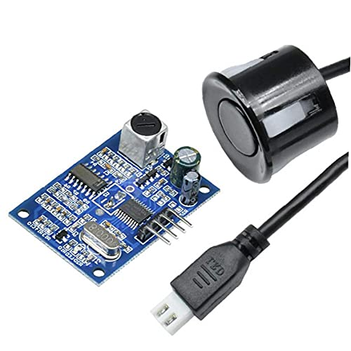 Módulo de sensor de distancia Impermeable JSN-SR04T TABLA DE MEDIDA Sonda de transductora para distancia horizontal 2 Conjuntos Componentes de control industrial