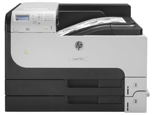 HP Laserjet Enterprise M712dn (CF236A) A3 SW-Laserdrucker (Duplex, HP ePrint, Airprint, LAN, USB, 1200 x 1200 dpi) schwarz/weiß