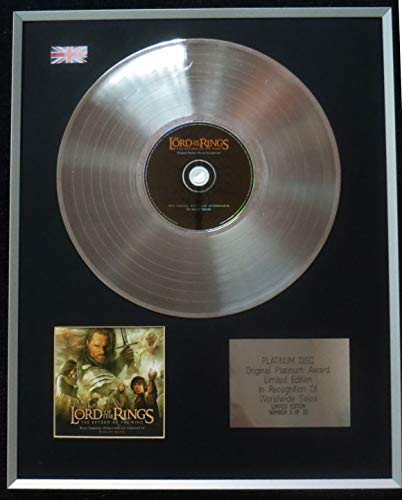 Century Presentations - Lord of the Rings - Limited Edition CD Platinum LP Disc - Return of the King - Original Soundtrack