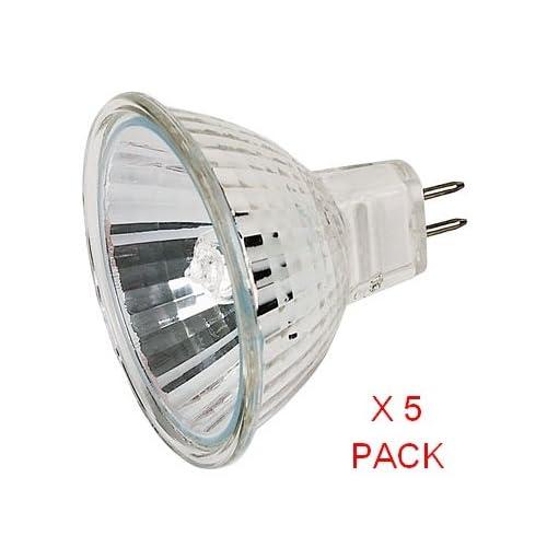 STANDARD LAMPS 20watt 12 volt Mr16 dichroic reflector flood lamps x12 By G.E.T