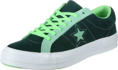 Converse Lifestyle One Star Ox, Scarpe da Ginnastica Basse Unisex-Adulto, Multicolore (Ponderosa Pine/Neptune Green 316), 40 EU