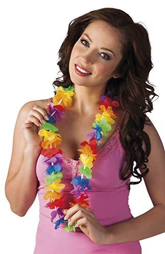 Collier Hawaïen - Rainbow - Petites Fleurs - Taille Unique