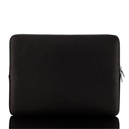 """Kmoon Borsa Morbida della Cerniera Lampo Sacchetto della Chiusura Lampo per 14 Pollici 14"""" Ultrabook Laptop Notebook Portatile"""