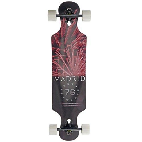 Madrid Longboard-Komplettset schwarz Einheitsgröße