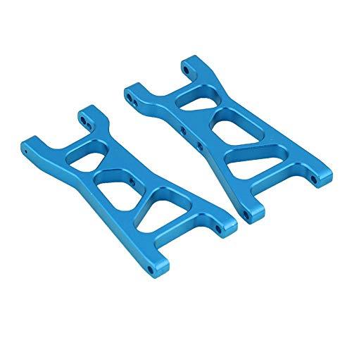 Dilwe RC-Querlenker, Aluminiumlegierung Vorne Hinten Unterer RC-Teil Zubehör für FS 1/18 RC Auto( Blau)