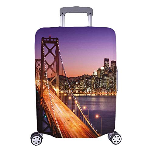 Golden Gate Bridge at Sunset, California Travelers Choice Travel Equipaje con Ruedas giratorias Maleta con Equipaje de 20 Pulgadas