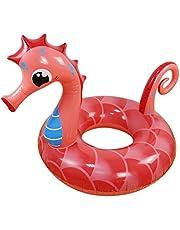Rubeyul Zwemband voor baby's, zwemhulp, zwembadstoel, opblaasbare zwemstoel, kleine zwemring voor badplezier, geschikt voor kinderen en volwassenen