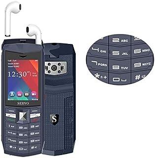 Mobile Phones & Communication SERVO R26 TWS Bluetooth Mobile Phone, English Keyboard, 3000mAh Battery, 2.4 inch, 23 Keys, ...