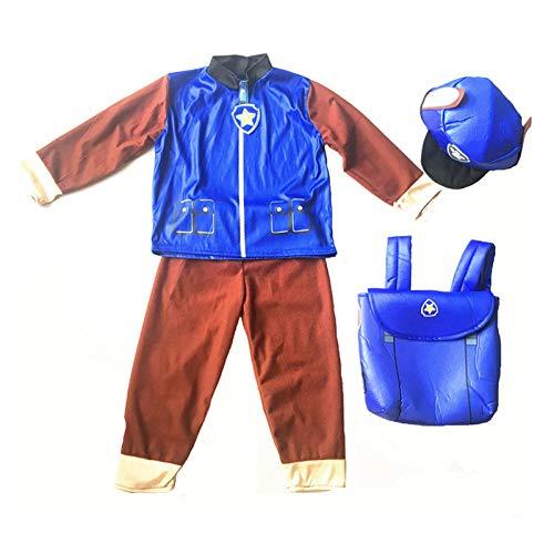 Cosplay Disfraz de Patrulla para nios nias cumpleaos Disfraz de Cosplay Perro de Patrulla nios Ryder Papel de Fiesta Halloween para nios Disfraz de Fiesta B S