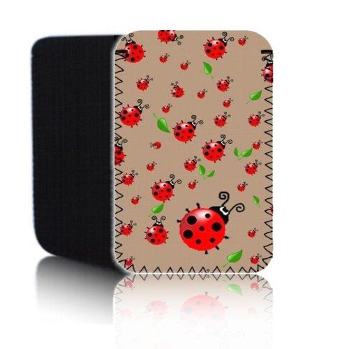 BIZEBEE Schutzhülle für Marienkäfer–Kaffee '(7HD) Schutz Neopren Tasche für Xiaomi Mi Pad 2–Stoßfest und wasserabweisend Abdeckung, Hülle, Tasche,–Schnell Schiff UK