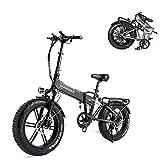 SAMEBIKE XWXL09 Fat Tire Bicicletta...