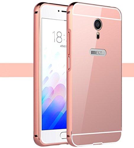 Prevoa ® 丨Meizu M3 Note Funda - Metal Frame Funda Cover Case para Meizu M3 Note 5,5 Pulgadas Smartphone: Amazon.es: Electrónica