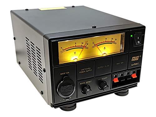 Komerci PS30II Festspannungsnetzteil 13,8V/30A, Schaltnetzteil regelbarer Entstörfilter Spannungsanpassung 9-15V