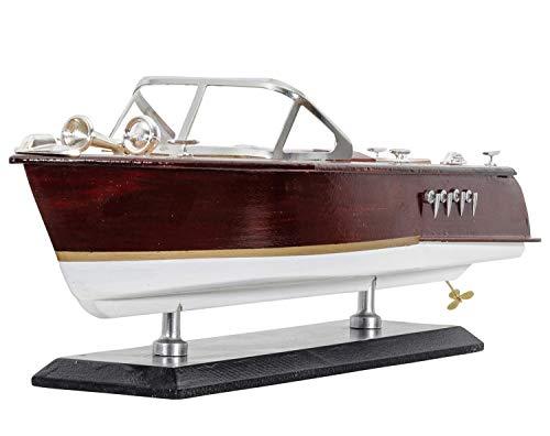 aubaho Modello di Nave Sport Boat Ship Modello Yacht Barca 36cm nessun Kit