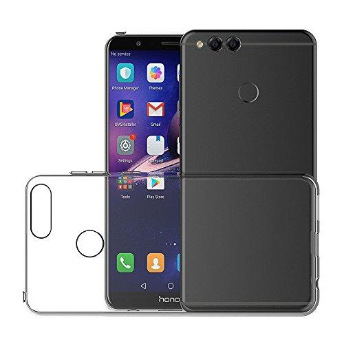 AICEK Honor 7X Hülle, Transparent Silikon Schutzhülle für Huawei Honor 7X Case Clear Durchsichtige TPU Bumper Honor 7X Handyhülle (5,93 Zoll) - 4