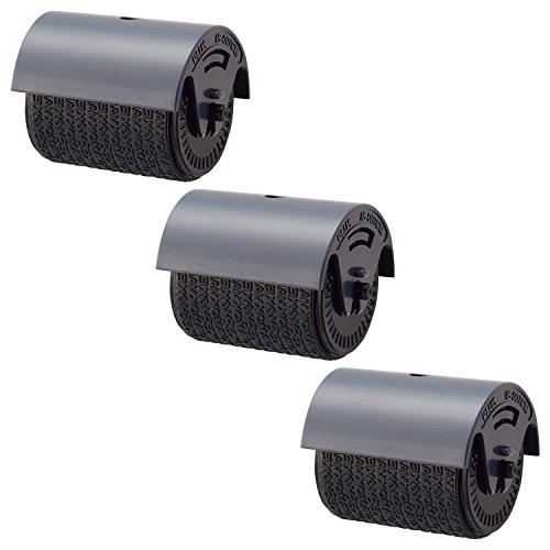プラス 個人情報保護スタンプ ローラーケシポン専用インクカートリッジ 3個入 37-299×3