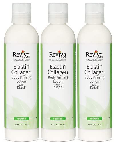 REVIVA LABS - Elastin & Collagen Body Firming Lotion 3PK (8.oz)