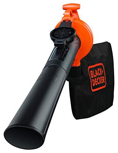 Soprador e Aspirador Elétrico 2.500W, Black+Decker