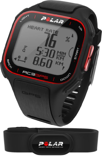 Polar RC3 GPS HR - Reloj con pulsómetro y GPS integrado, compatible...