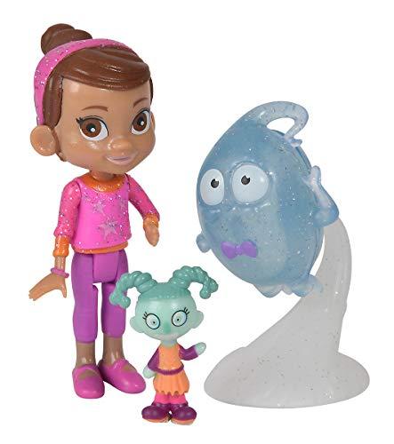 Simba 109422260 Vampirina Figurenset mit Poppy und Demi Spielfiguren, Mehrfarbig
