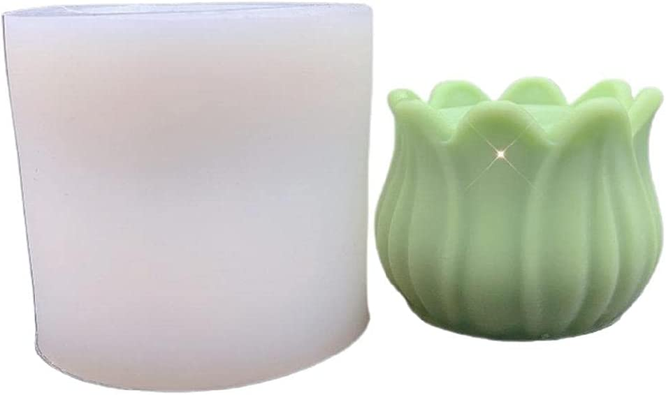 Flower NEW Shape Popular products Soaps Silicone Mold Candle Bath Bomb Decoration Can