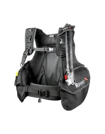 Mares BCD Rover DC Chaleco Unisex Color Negro