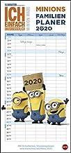 Minions Familienplaner. Wandkalender 2020. Monatskalendarium